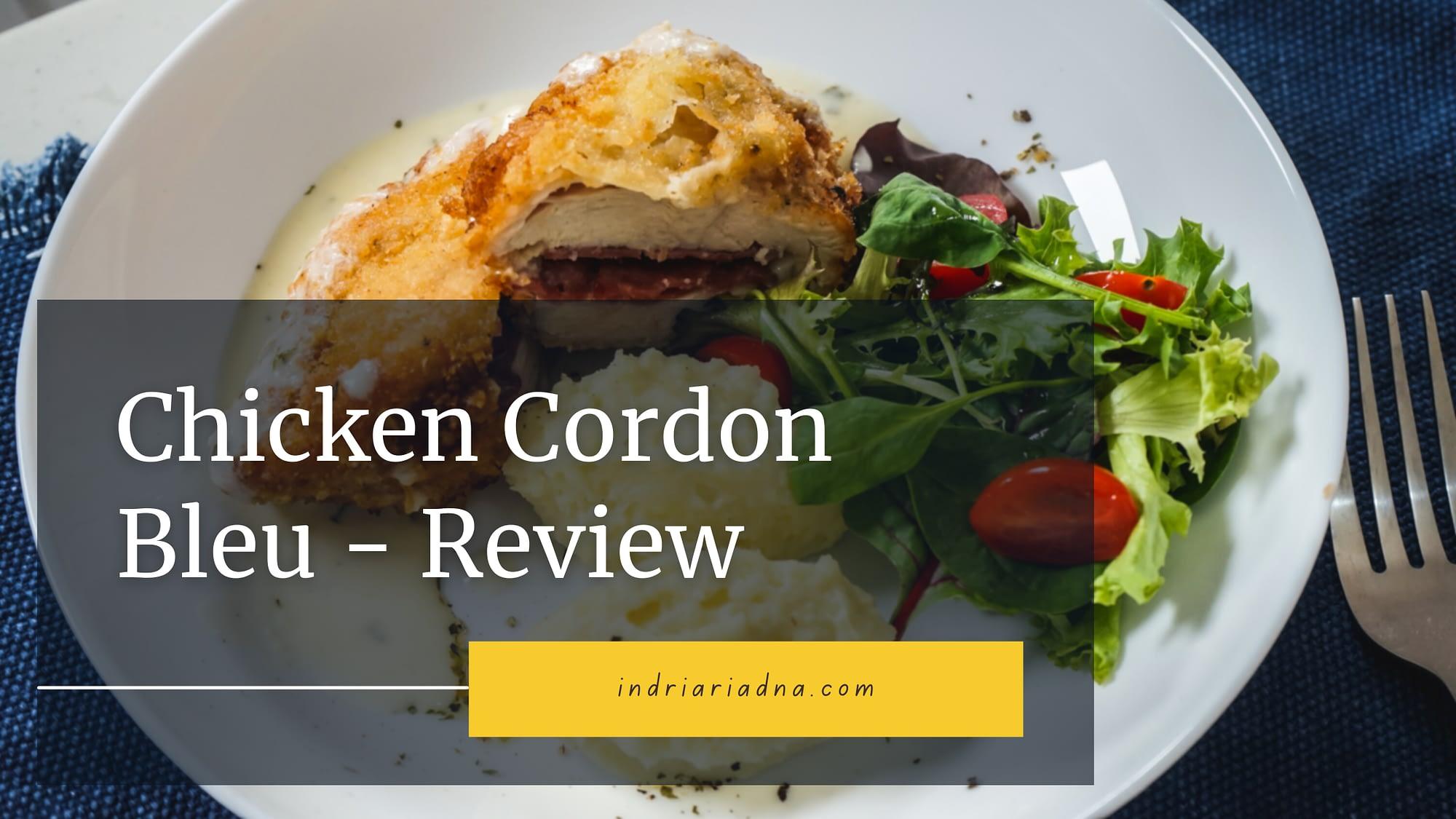 chicken cordon bleu review