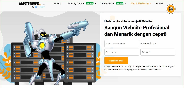 laman website1menit
