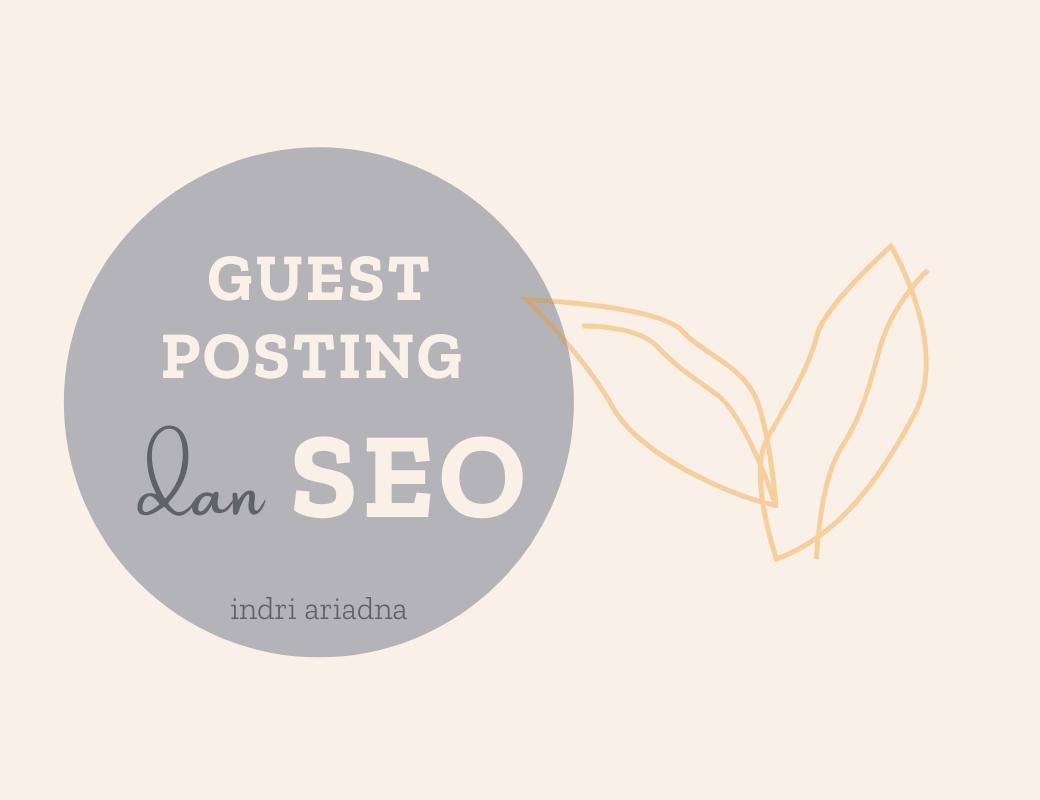 guest posting dan SEO