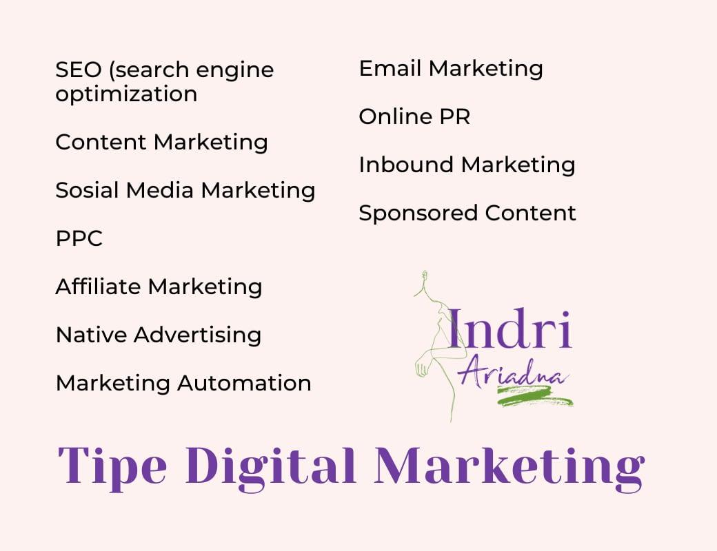 tipe digital marketing