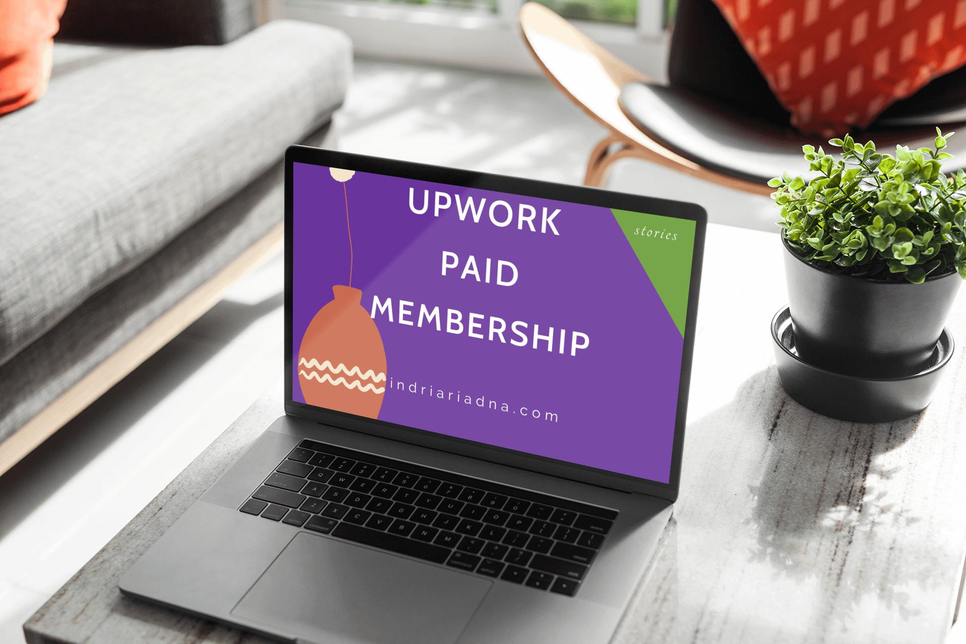upwork paid membership