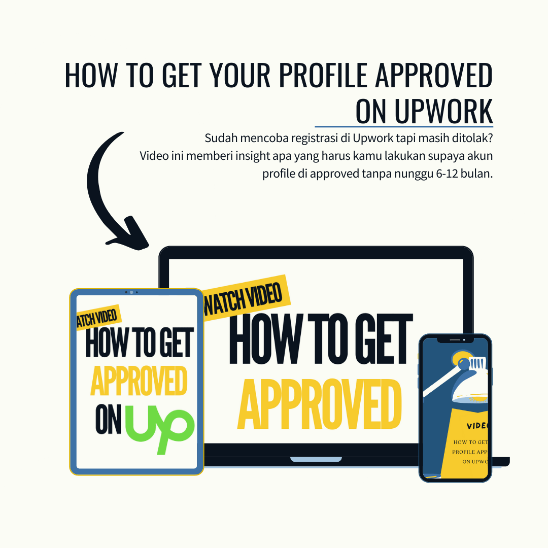 how to get approved on upwork 1